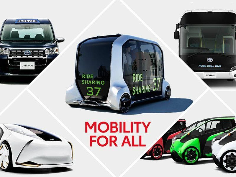 Toyota revolucionará la movilidad de los Juegos Olímpicos de Tokio 2020