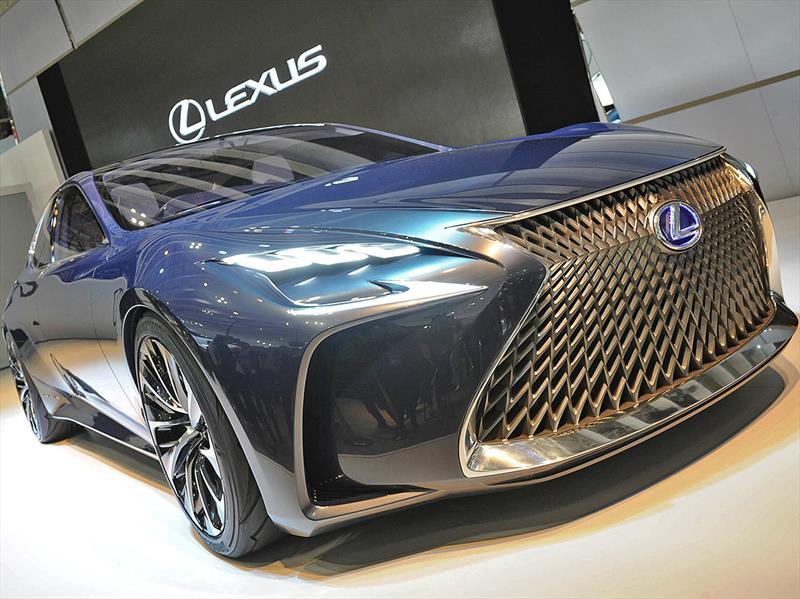 Lexus LF-FC Concept, un adelanto del futuro LS
