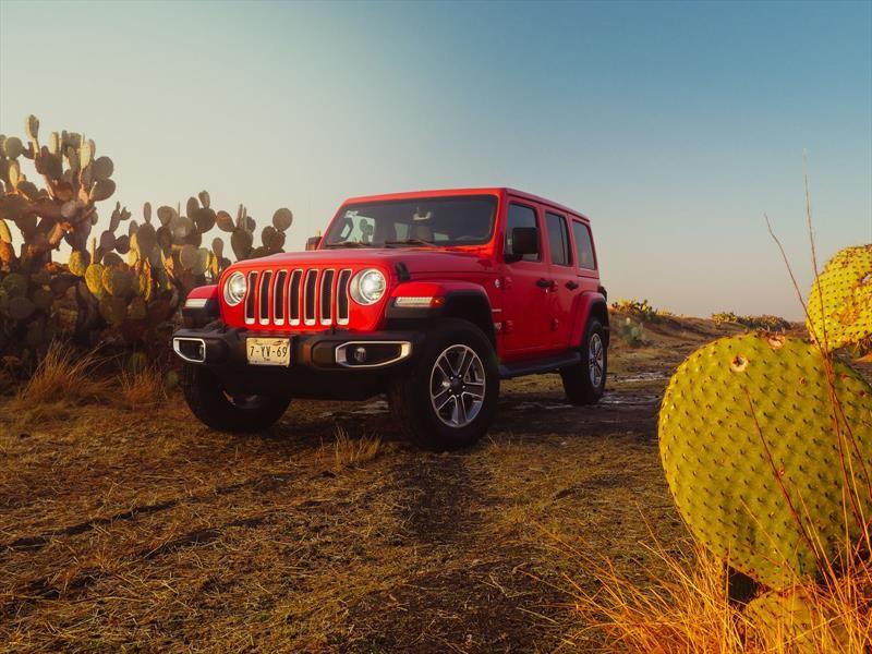 Jeep Wrangler 2018 a prueba