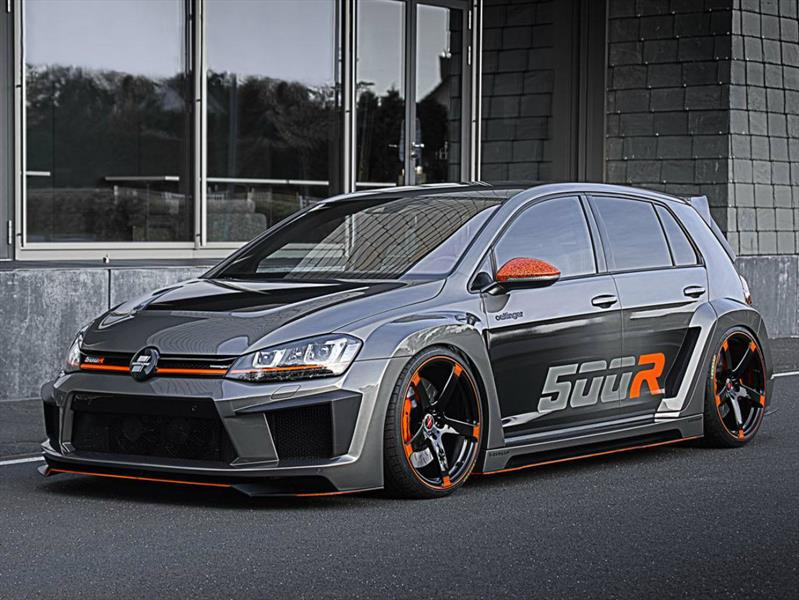 volkswagen golf r por oettinger con m s de 500 hp. Black Bedroom Furniture Sets. Home Design Ideas