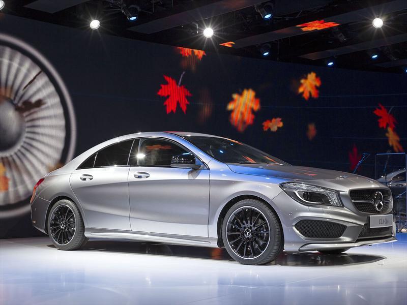 Mercedes Benz anticipa el CLA en Detroit