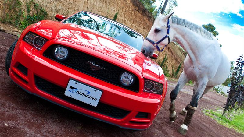Ford Mustang GT Convertible 2013 a prueba