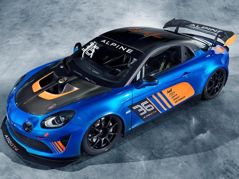 Alpine A110 GT4: un bólido excelso