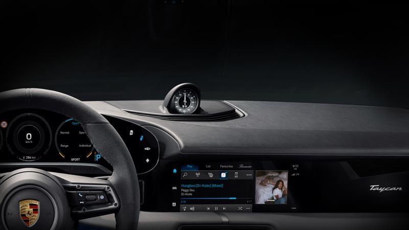 Porsche Taycan integrará Apple Music integrado