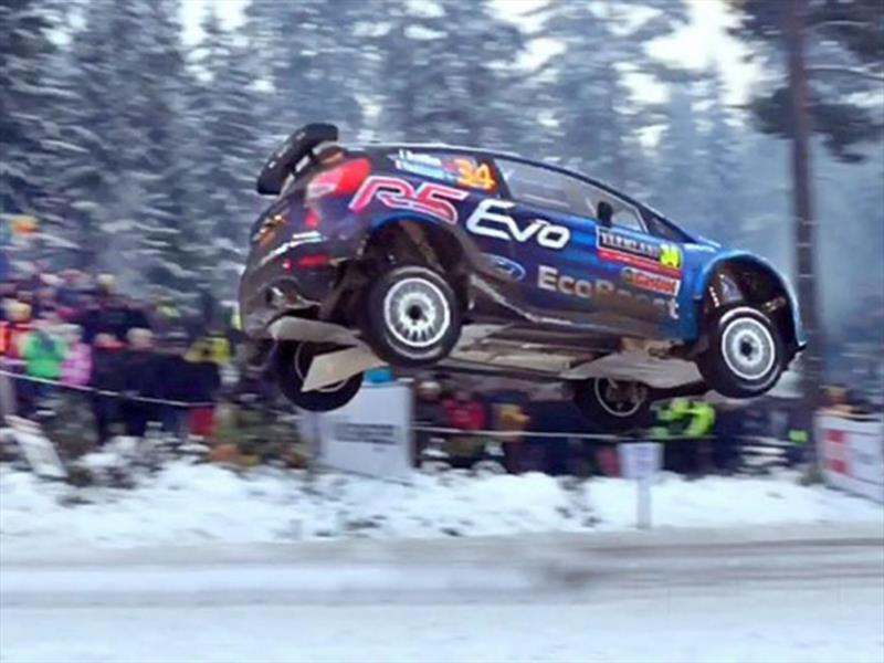 Hay un nuevo récord de salto en el WRC