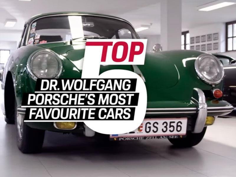 Conoce a los 5 Porsche favoritos del Dr. Wolfgang Porsche