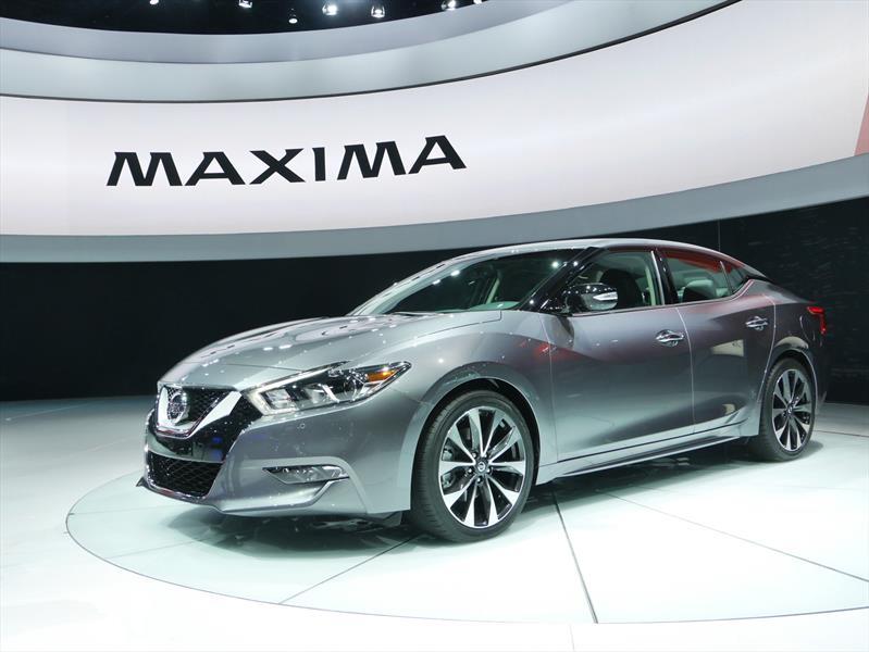 Nissan Maxima 2016 se presenta