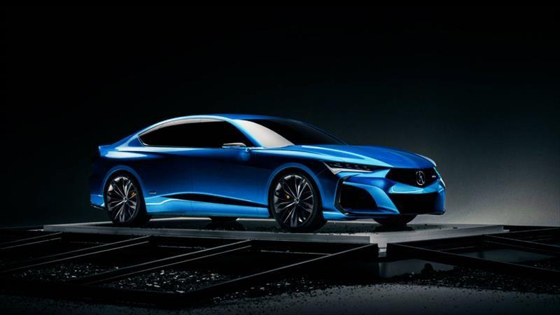 Type S Concept es el auto que anticipa la nueva era de Acura