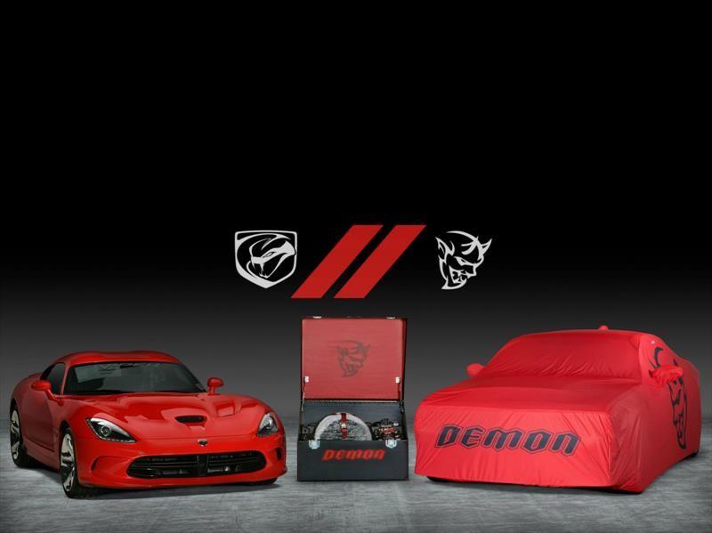 Dodge Viper y Challenger SRT Demon, la subasta de los 1.485 CV
