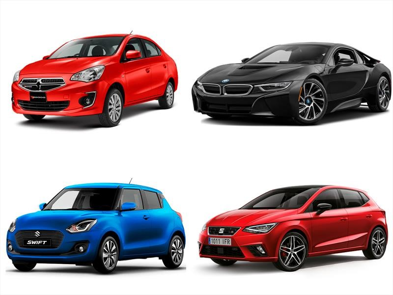 Todos los autos de tres cilindros a la venta en México en 2019