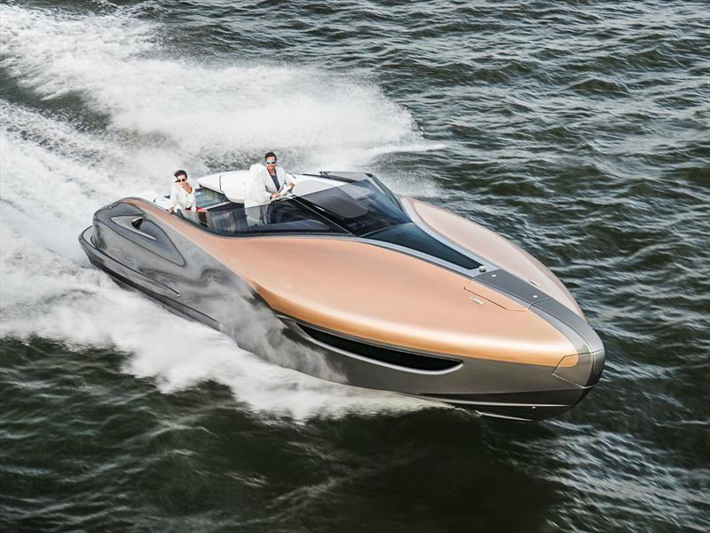 Lexus Sport Yacht, el yate de lujo de Toyota, a la venta en 2019