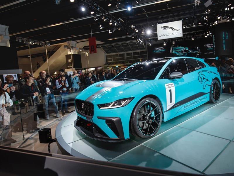 Jaguar I-PACE eTrophy es el nuevo serial monomarca eléctrico