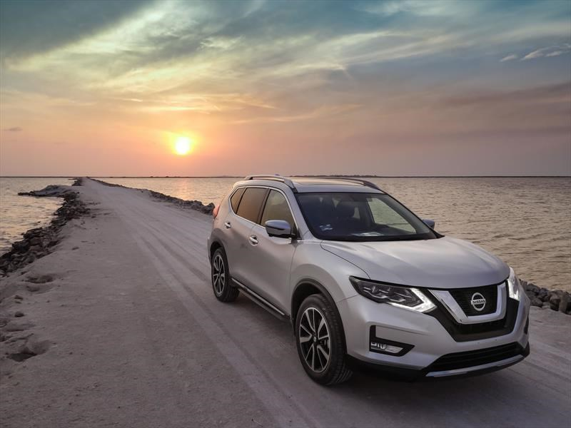 nissan x trail 2018 a prueba. Black Bedroom Furniture Sets. Home Design Ideas