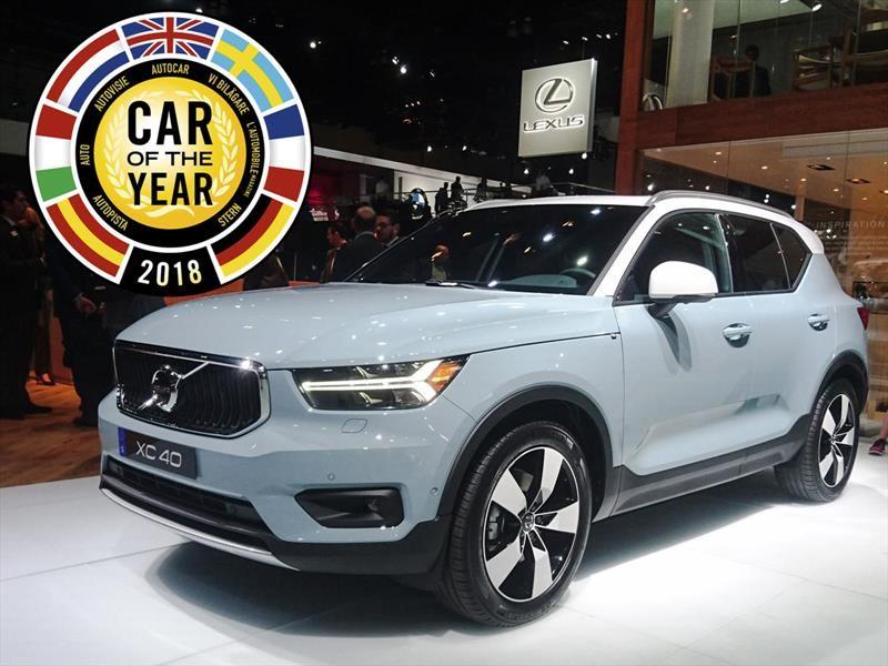 ECOTY: Volvo XC40 es el Auto del Año 2018