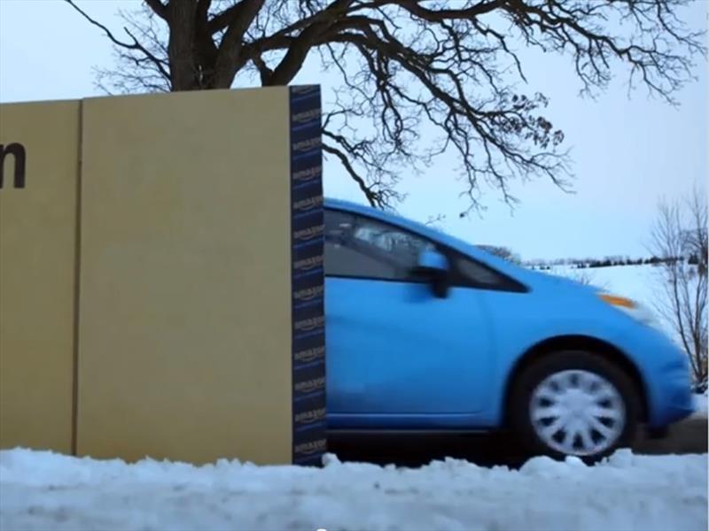 Video: Nissan vende el Note a través de Amazon.com