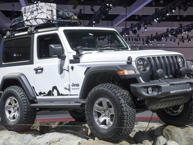 Jeep Wrangler sorprende en el CES 2018