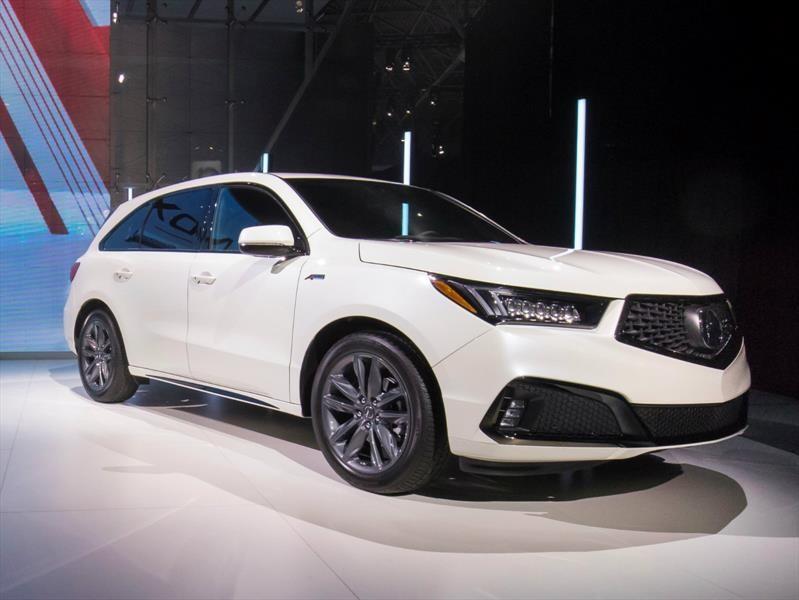 Acura MDX A-Spec 2019 se presenta
