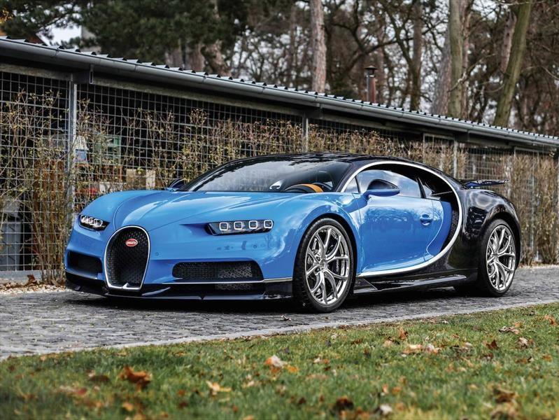 Poderoso Bugatti Chiron se subasta