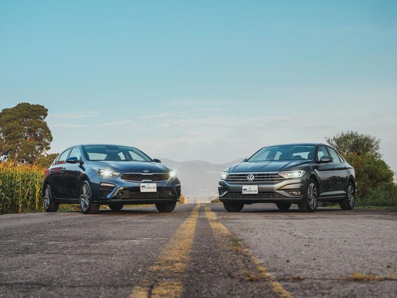Frente a Frente: Volkswagen Jetta 2019 vs KIA Forte 2019