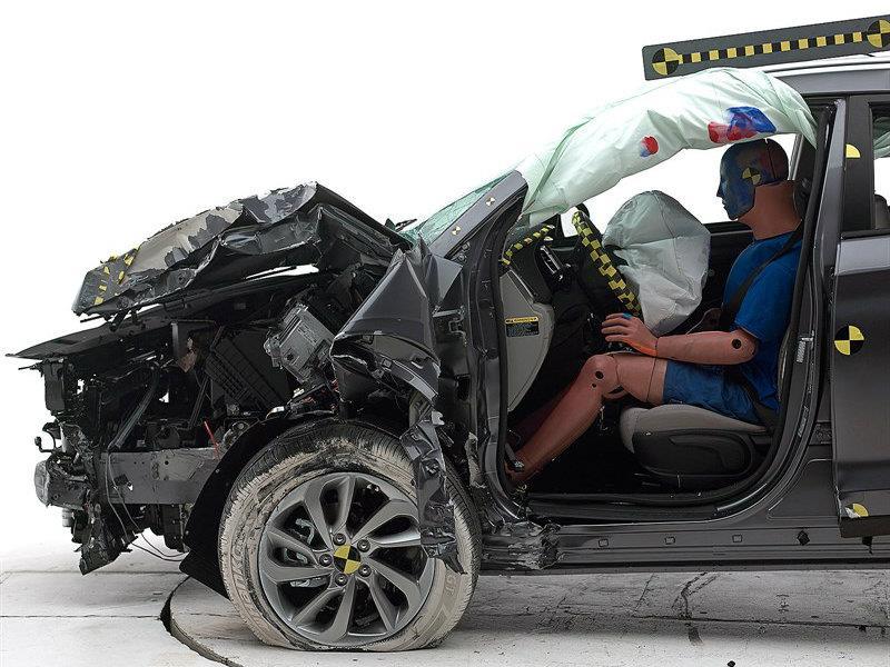Hyundai sacó la mejor calificación en pruebas de impacto de la IIHS