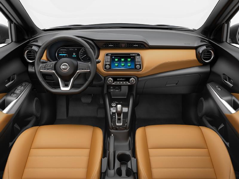 Nissan Kicks 2017, primeras imágenes del interior