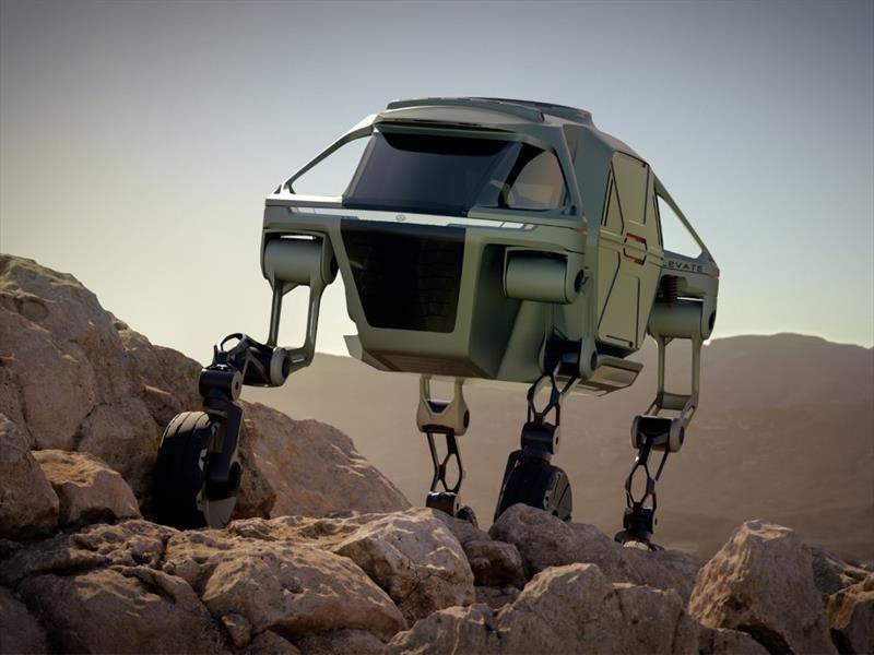 Hyundai Elevate Concept, un paso más allá del off-road