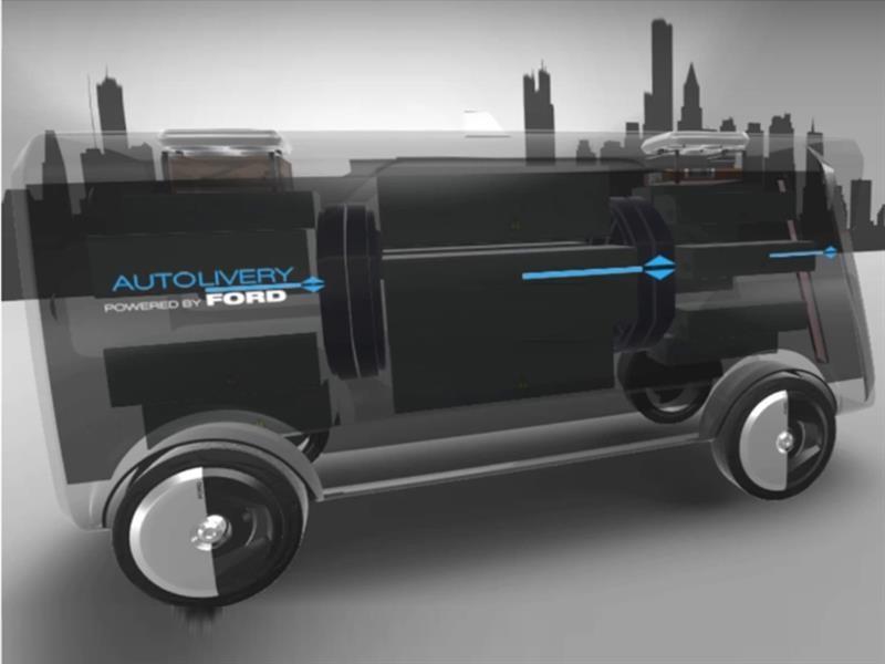 Ford Autolivery, el futuro de las entregas a domicilio