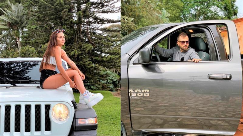 Greeicy Rendón y Mike Bahía son los nuevos embajadores de Jeep y RAM