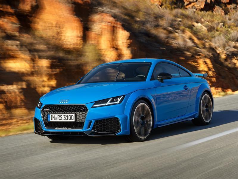 Audi TT RS 2020 llega con nada más y nada menos que 400 hp
