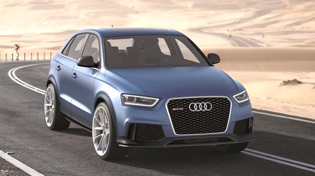 Audi RS Q3 Concept debuta en el Salón de Beijing 2012