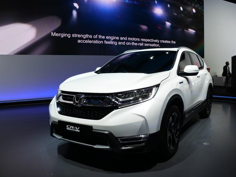 Honda CR-V Hybrid, prototipo que llega para conquistar Europa