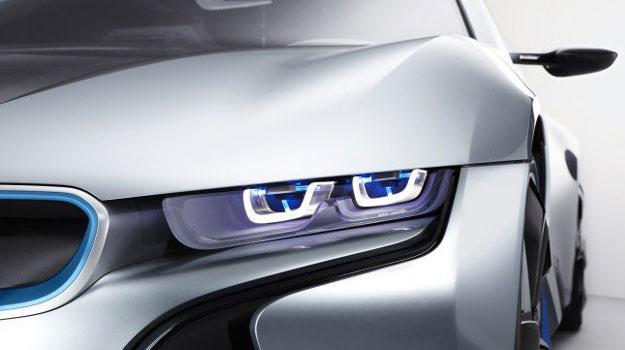 BMW desarrolla tecnología de iluminación láser