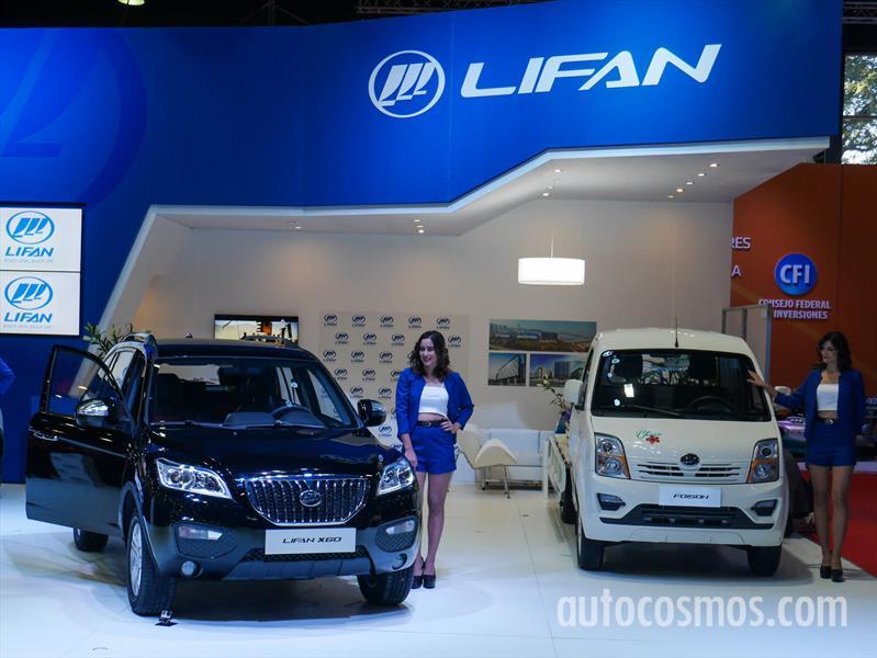 LIFAN desembarca en el Salón de Buenos Aires 2015