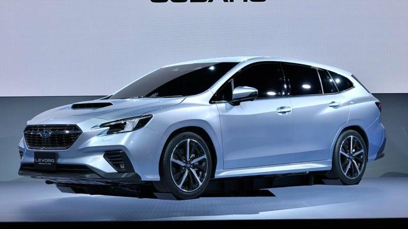 Subaru Levorg Prototype visualiza a la segunda generación del station wagon