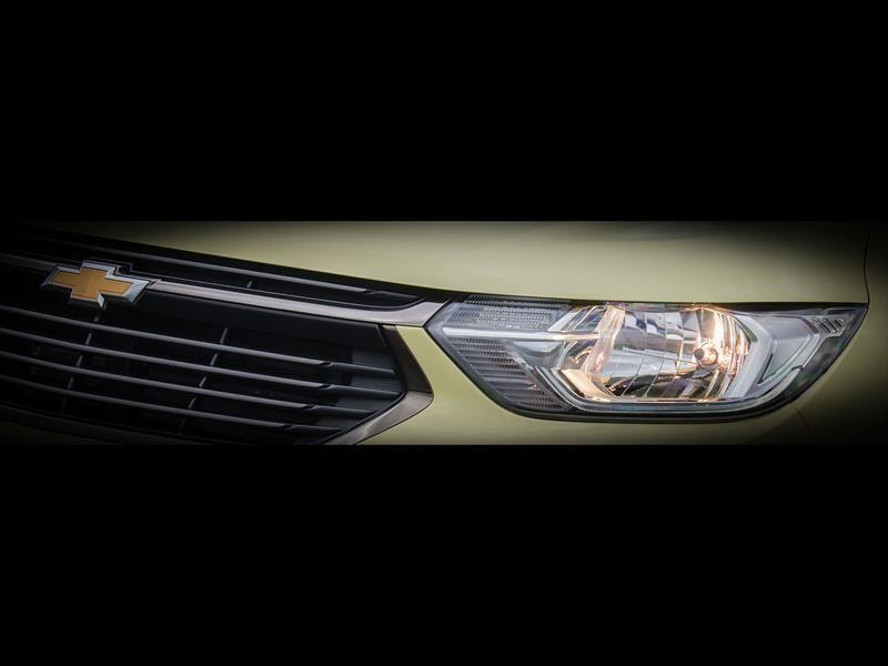 La renovada Chevrolet Spin ya empieza a mostrarse