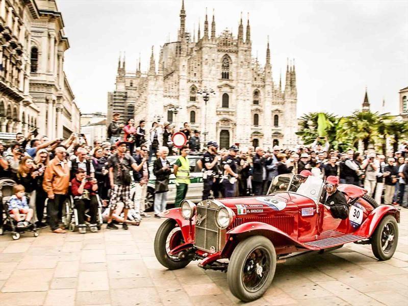 Alfa Romeo gana el 1-2-3 en la Mille Miglia 2018