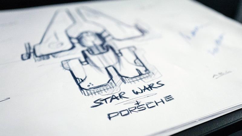 Lucasfilm se asocia con Porsche para diseñar la nave espacial de Star Wars: El ascenso de Skywalker