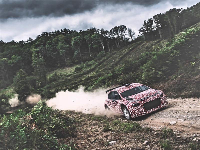Citroën prepara el estreno del nuevo C3 R5 de rally