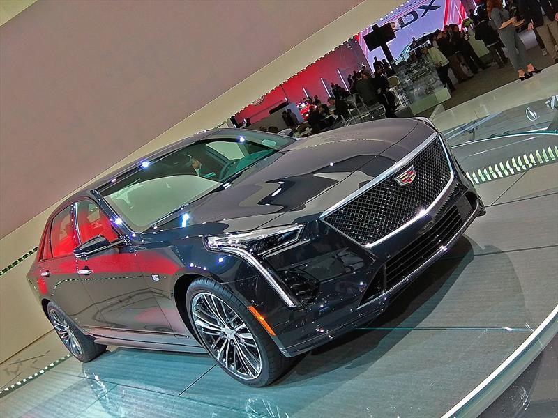 Cadillac CT6 V-Sport 2019 debuta