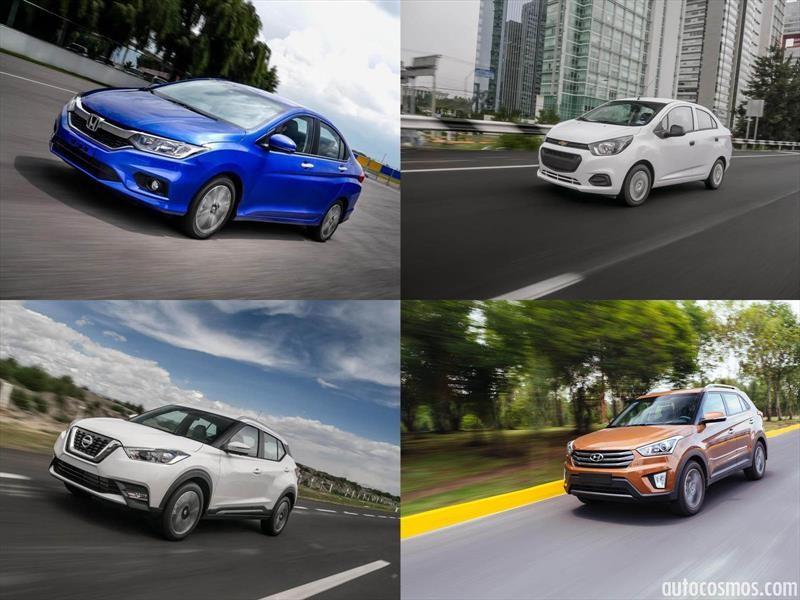 Los 30 vehículos más vendidos en México durante 2017