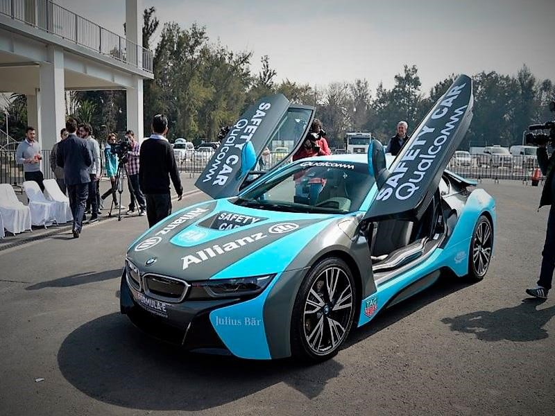bmw i8 es el safety car del e prix de m xico. Black Bedroom Furniture Sets. Home Design Ideas