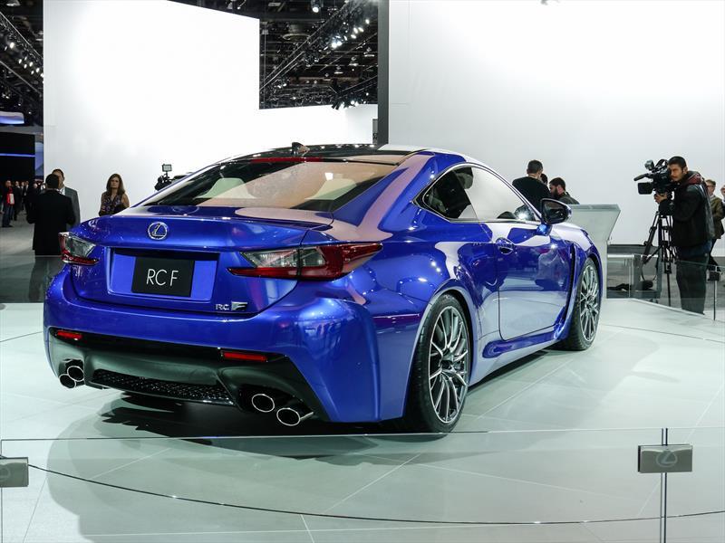 Lexus RC F se presenta