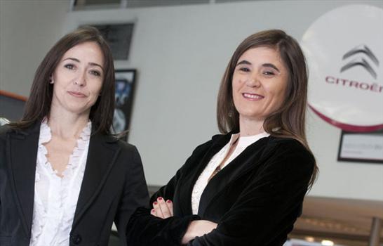 Dos mujeres exitosas en Citroën Argentina.