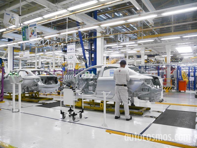 Esta es la planta en Argentina donde Fiat fabrica el Cronos