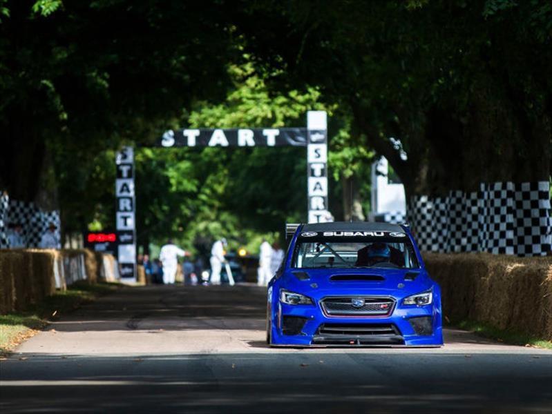 Video: Mark Higgins trata de hacerse con el Record del Festival de Goodwood en un Subaru WRX STi