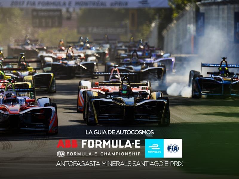 Todo lo que tienes que saber sobre la Fórmula E en Chile
