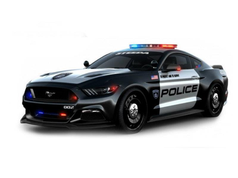 Ford Mustang Police Interceptor, una patrulla fuera de ...