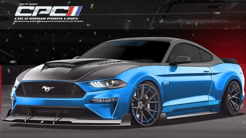 Mustang GT Fastback por California Pony Cars, mejora el desempeño de fábrica
