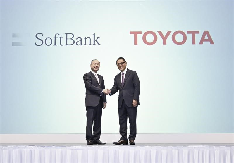 MONET, joinventure de Toyota y SoftBank