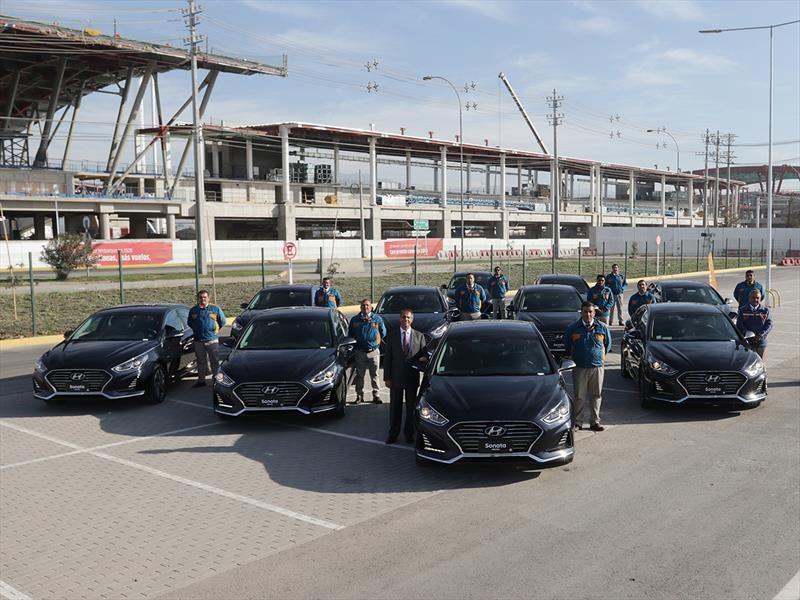 Transvip recibe flota de 50 Hyundai Sonata híbridos